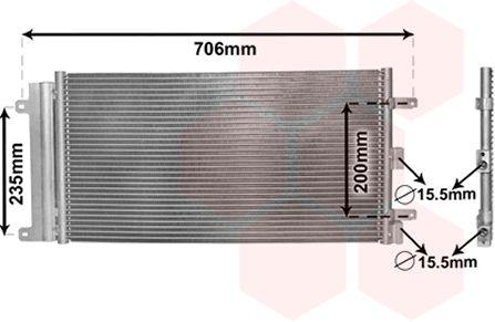 Condenseur, climatisation - VWA - 88VWA17005342
