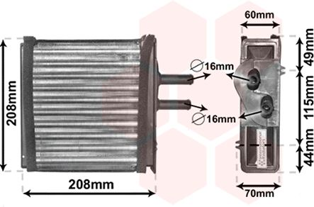 Système de chauffage - VAN WEZEL - 17006150