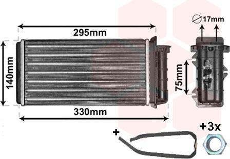 Système de chauffage - VAN WEZEL - 17006183