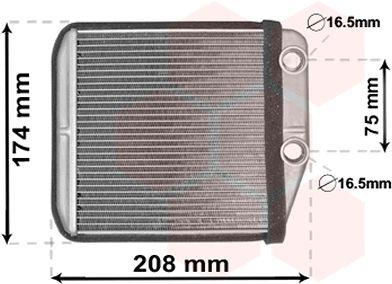 Système de chauffage - VAN WEZEL - 17006416