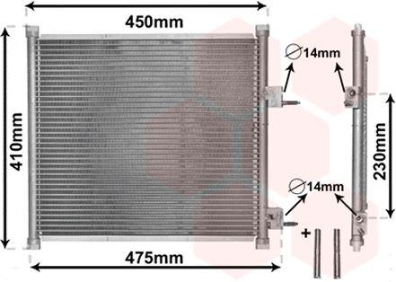 Condenseur, climatisation - VWA - 88VWA18005262