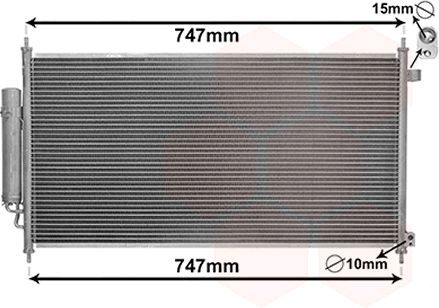 Condenseur, climatisation - VWA - 88VWA25005233