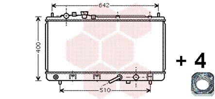 Radiateur, refroidissement du moteur - VWA - 88VWA27002168