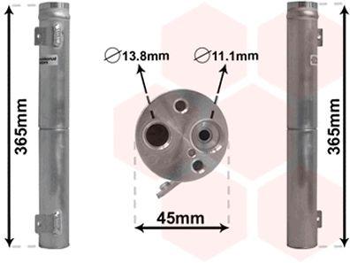 Filtre déshydratant, climatisation - VAN WEZEL - 3000D395