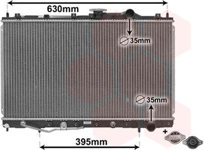 Radiateur, refroidissement du moteur - VAN WEZEL - 32002087