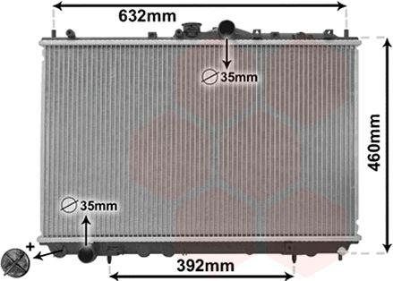Radiateur, refroidissement du moteur - VWA - 88VWA32002142