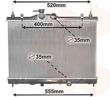 Radiateur, refroidissement du moteur - VWA - 88VWA33002378