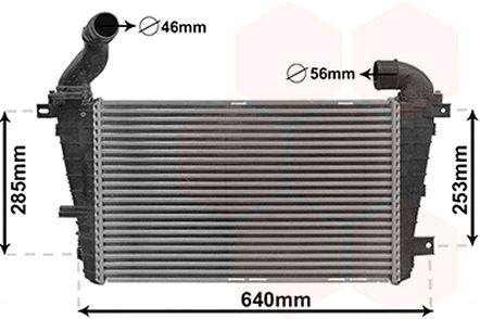 Intercooler, échangeur - VWA - 88VWA37004416
