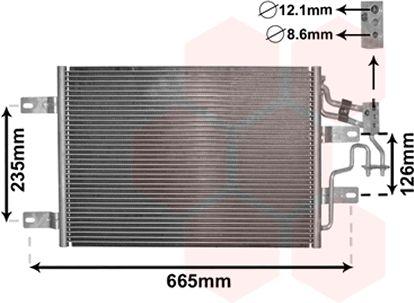 Condenseur, climatisation - VAN WEZEL - 37005394