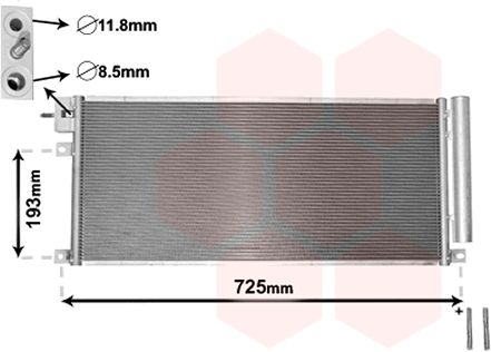 Condenseur, climatisation - VWA - 88VWA37005634
