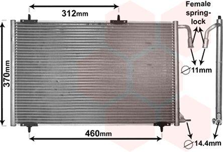 Condenseur, climatisation - VWA - 88VWA40005257
