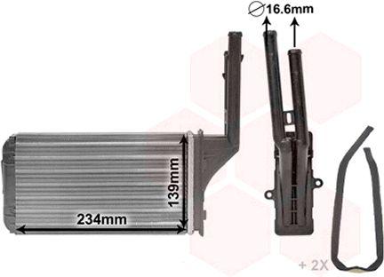 Système de chauffage - VAN WEZEL - 40006049
