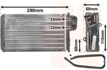 Système de chauffage - VWA - 88VWA40006100