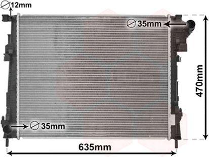 Radiateur, refroidissement du moteur - VWA - 88VWA43002427
