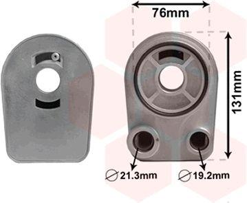Radiateur d'huile - VAN WEZEL - 43003607