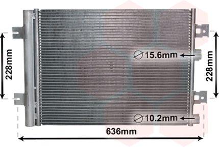 Condenseur, climatisation - VWA - 88VWA43005467