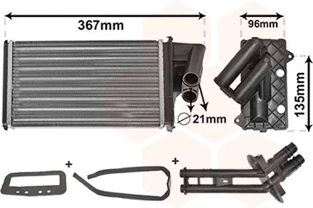 Système de chauffage - VAN WEZEL - 43006203