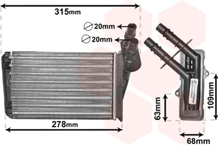 Système de chauffage - VAN WEZEL - 43006228
