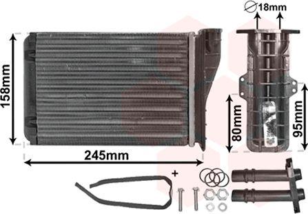 Système de chauffage - VWA - 88VWA43006249