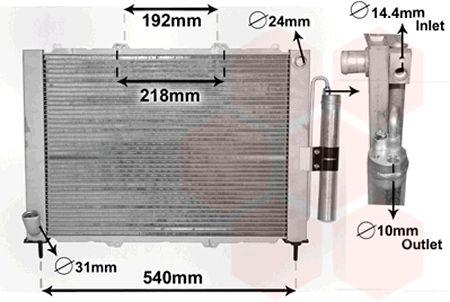Module de refroidissement - VAN WEZEL - 4300M497