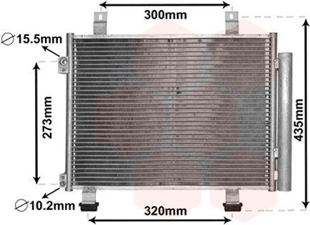 Condenseur, climatisation - VWA - 88VWA52005117