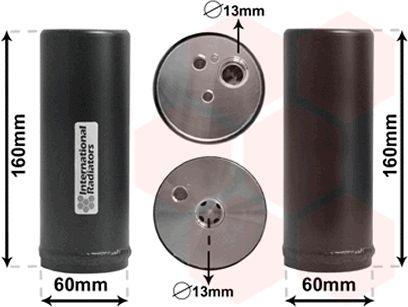 Filtre déshydratant, climatisation - VAN WEZEL - 5800D014