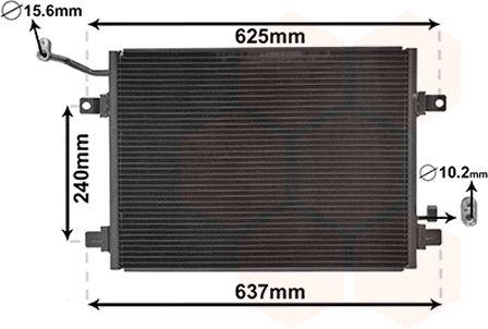 Condenseur, climatisation - VWA - 88VWA77005048