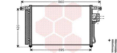 Condenseur, climatisation - VWA - 88VWA82005175