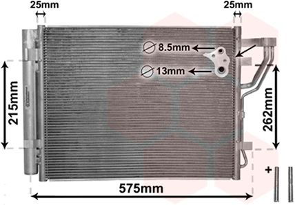Condenseur, climatisation - VWA - 88VWA82005189