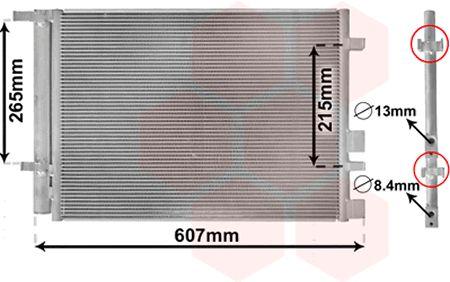 Condenseur, climatisation - VWA - 88VWA82005244