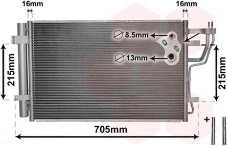 Condenseur, climatisation - VWA - 88VWA83005102