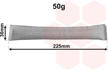Filtre déshydratant, climatisation - VAN WEZEL - 9900D125