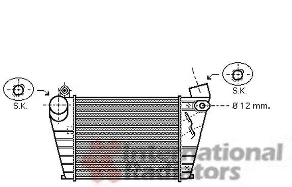 Intercooler, échangeur - VWA - 88VWA03004200