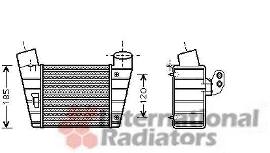 Intercooler, échangeur - VWA - 88VWA03004208