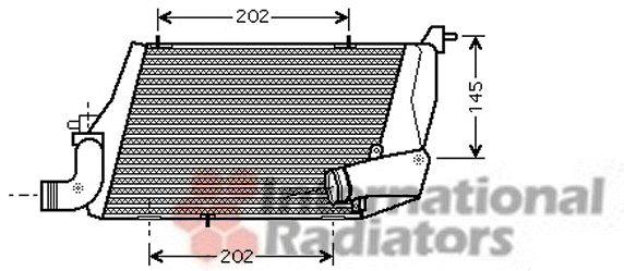 Intercooler, échangeur - VWA - 88VWA03004218