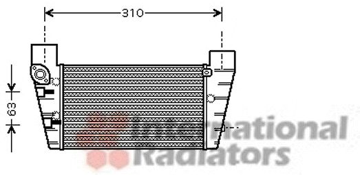 Intercooler, échangeur - VWA - 88VWA03004248