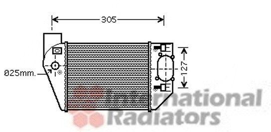 Intercooler, échangeur - VWA - 88VWA03004249