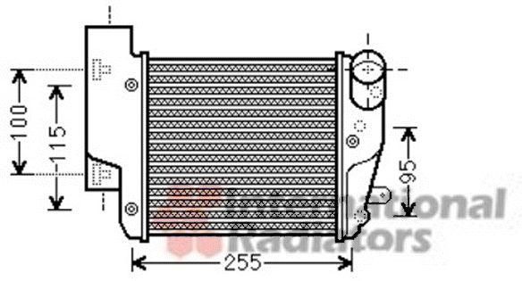Intercooler, échangeur - VWA - 88VWA03004304