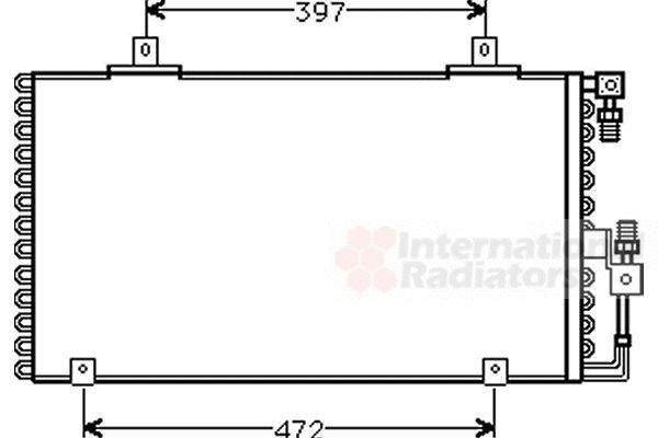 Condenseur, climatisation - VWA - 88VWA03005106