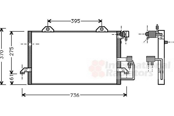 Condenseur, climatisation - VWA - 88VWA03005118