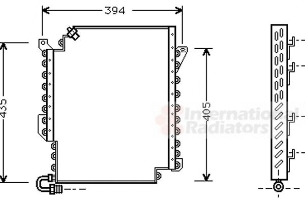 Condenseur, climatisation - VWA - 88VWA03005135