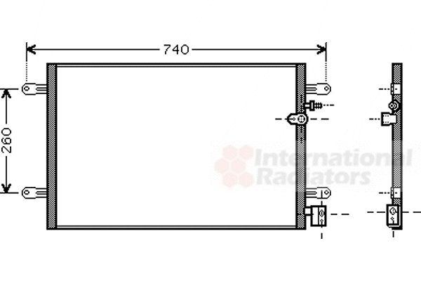 Condenseur, climatisation - VWA - 88VWA03005237