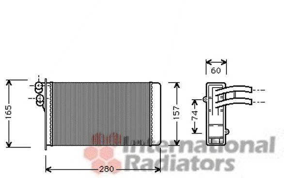 Système de chauffage - VWA - 88VWA03006141