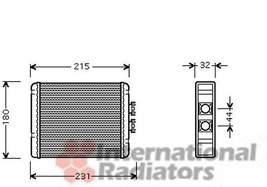 Système de chauffage - VWA - 88VWA03006198