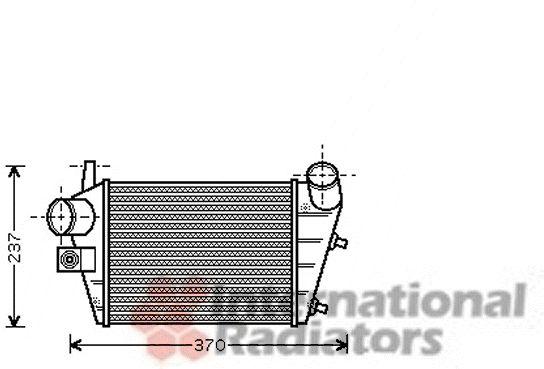 Intercooler, échangeur - VWA - 88VWA01004085