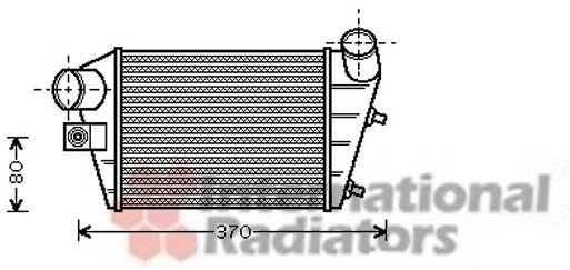 Intercooler, échangeur - VWA - 88VWA01004086