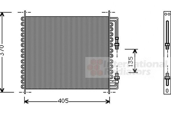 Condenseur, climatisation - VWA - 88VWA01005064