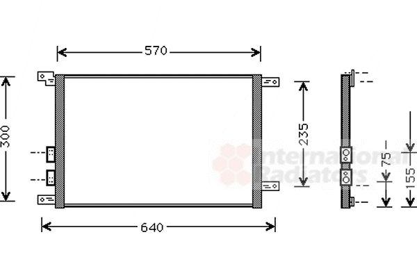 Condenseur, climatisation - VWA - 88VWA01005070