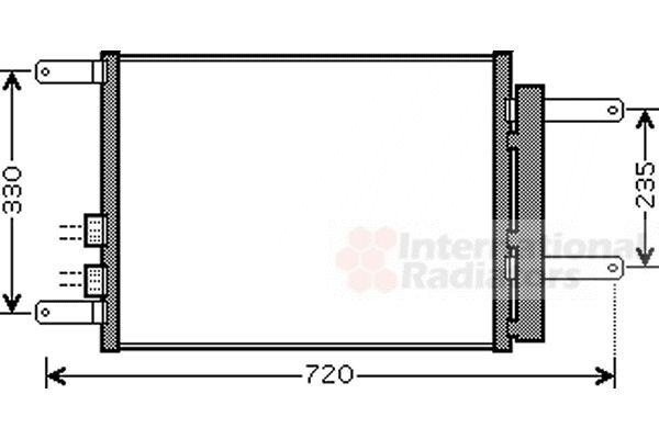 Condenseur, climatisation - VWA - 88VWA01005111