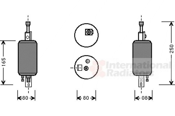 Filtre déshydratant, climatisation - VWA - 88VWA0100D001